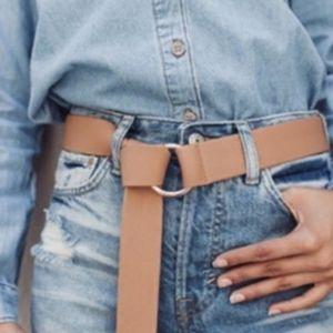 Nwt Tan Mia B-low the belt wrap belt